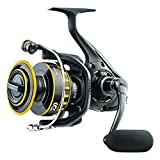 Daiwa BG8000 BG Saltwater Spinning Reel, 8000, 5.3: 1 Gear Ratio, 6+1 Bearings, 53.30' Retrieve Rate, 33 lb Max Drag