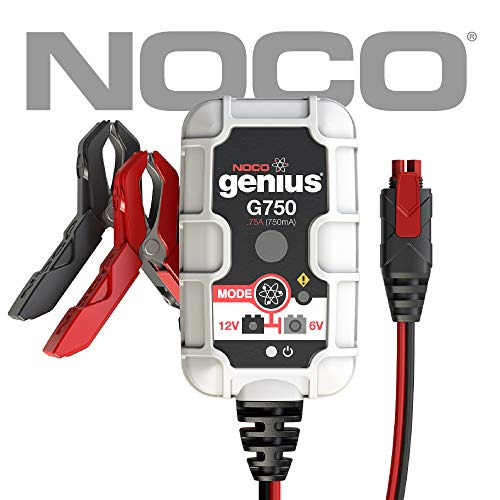 NOCO Genius G750 6V/12V .75 Amp Battery Charger and Maintainer