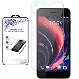 for HTC Desire 10 Pro Screen Protector, [Tempered Glass] 0.26mm Ballistic Glass Screen Protector (for HTC Desire 10 Pro)