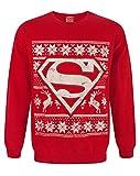 DC Comics Superman Christmas Sweatshirt (S)