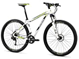 Mongoose Men's TYAX Expert Mountain Bicycle, White, 18'/Medium/29