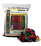 Harrisville Designs F557ML-AZ 7' Bright Lotta Loops in Assorted Colors - Makes 8 Potholders