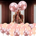 AivaToba-Bride-to-BE-Dcorations-Or-Rose-Bride-to-BE-BallonsBallons-confettis-pour-Douche-Nuptiale-BacheloretteHen-Party-Decorations-EVJF-Ballons