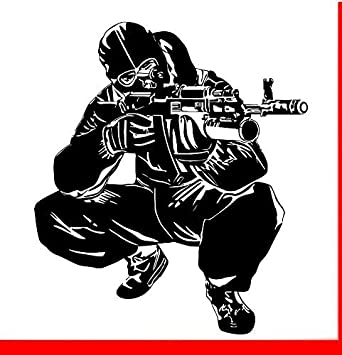 Buy Arwy Army Wall Sticker Army Logo Army Wall Paper Army Logo Wall Sticker Decal Vinyl Black Standard Size Online At Low Prices In India Amazon In