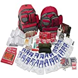 Emergency Zone 4 Person Family Prep 72 Hour Survival Kit/Go-Bag | Perfect Way to Prepare Your Family | Be Ready for Disasters Like Hurricanes, Earthquake, Wildfire, Floods | Now Includes Bonus Item!