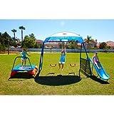 NEW Inspiration 250 Fitness Playground Metal Swing Set