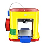 "da Vinci miniMaker 3D Printer-6""x6""x6"" Built Size (Includes: 300g Filament, 3D eBook, Maintenance Tools, PLA/Tough PLA/PETG/Antibacterial PLA) Upgradeable to Print Carbon/Metallic PLA"