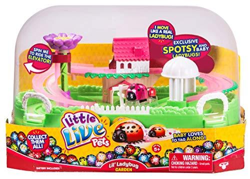 Little Live Pets Lil' Ladybug Garden - Spotsy & Baby