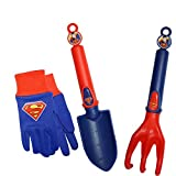 MidWest Quality Gloves SFSP16P03-EA-AZ-6 DC Comics Super Friends Super Man Combo Pack, Toddler, Multicolor