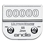 Andis Carbon-Infused Steel UltraEdge Clipper Blade, Size-00000, 1/125-Inch Cut Length (64740)
