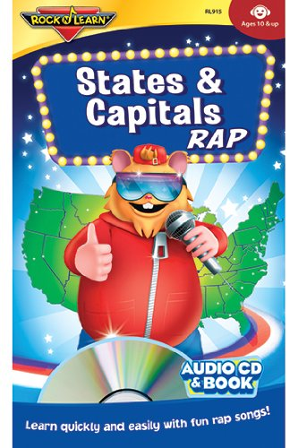 7 Pack ROCK N LEARN STATES & CAPITALS RAP CD+BOOK ...