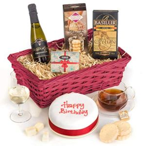 Hay Hampers Birthday Cake Celebration Hamper Basket 51y09FB688L