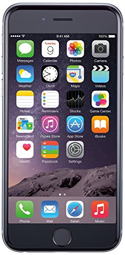 Apple iPhone 6 Plus, GSM Unlocked, 128GB - Space Gray (Refurbished)