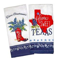 Texas Bluebonnets Tea Towel Set
