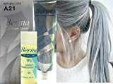 Hair Colour Permanent Hair Cream Dye Light Ash Grey by Berina