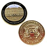 Rystinworks Donald Trump Inauguration Challenge Coin -Limited Edition- Commemorate The 45th President of The United States - A Presidential Collector Item
