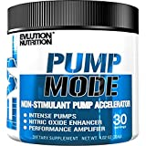 Evlution Nutrition Pump Mode (30 Serving, Unflavored) Nitric Oxide Booster To Support Intense Pumps, Performance and Vascularity