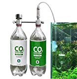 CO2 Generator for Plants Aquarium DIY CO2 Kit Pressurized Injection System with Bubble Counter Full Metal