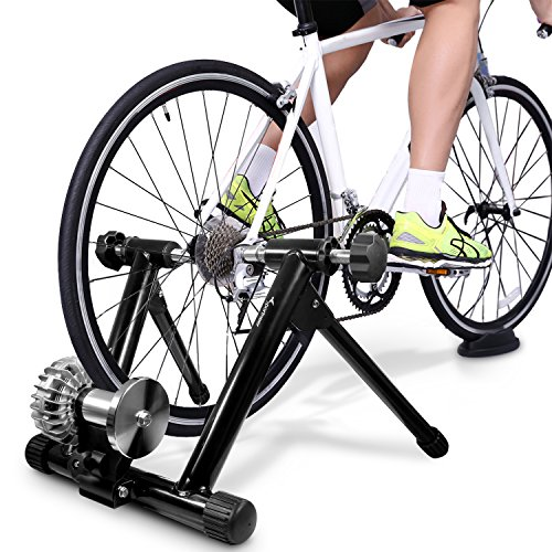 Sportneer Fluid Bike Trainer Stand, Indoor Bicycle Exercise Training Stand
