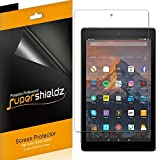 [3-Pack] Supershieldz for All-New Fire HD 10 Tablet 10.1' (7th Generation - 2017 Release) Screen Protector, High Definition Clear Shield - Lifetime Replacement