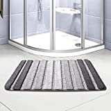 Bath Rug, Door Mat, Soft and Absorbent Bathroom Mat, Machine Wash/Dry, Anti-Slip and Plush Bath Mat for Bathroom, Living Room and Laundry Room