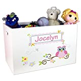 Product review for Personalized Owl Toy Box