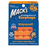 Macks Moldable Silicone Ear Plugs, Kids Size, 6 Pair (Pack of 6)