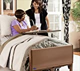 Full Electric Hospital Bed Package (Invacare Full Electric Home Hospital Bed Package w/Mattress, Rail Set)