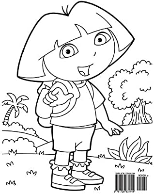 Dora The Explorer Coloring Book Coloring Book For Kids And Adults Activity Book With Fun Easy And Relaxing Coloring Pages By Ivazewa Alexa Amazon Ae