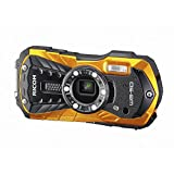 RICOH WG-50 Orange waterproof 14m withstand shock 1.6m cold -10 °...