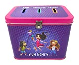 Pioneer Plus - 3 Slot Savings Bank - Savings - Fun Money and More (Girl)