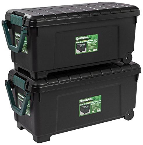 IRIS USA, Inc. 296015 SIA-1000H Storage Box, 173 Quart, Black
