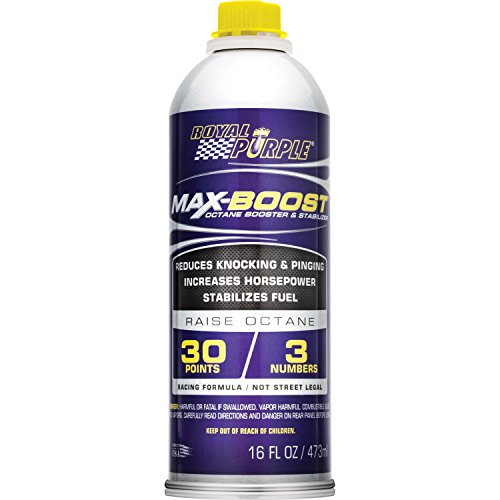 2. Royal Purple 11757 Max-Boost Octane Booster and Stabilizer - 16 oz