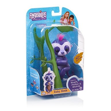 Fingerlings-Baby-Sloth-Marge-Purple-Interactive-Baby-Pet-by-WowWee