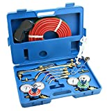 ARKSEN Oxy Acetylene Welding Cutting Torch Kit Victor Compatible w/Case