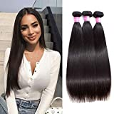 Original Queen 14 16 18 Inches Brazilian Straight Hair Bundles 8A Grade Unprocessed Human Hair Extension Mixed Lengths Natural Color