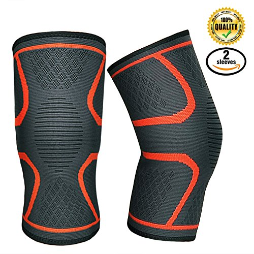 Knee Compression Sleeve Support Brace