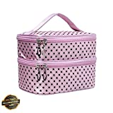 Gatton Travel Cosmetic Makeup Bag Wash Toiletry Organizer Storage Case Multifunction | Style TRVIHR-11292165