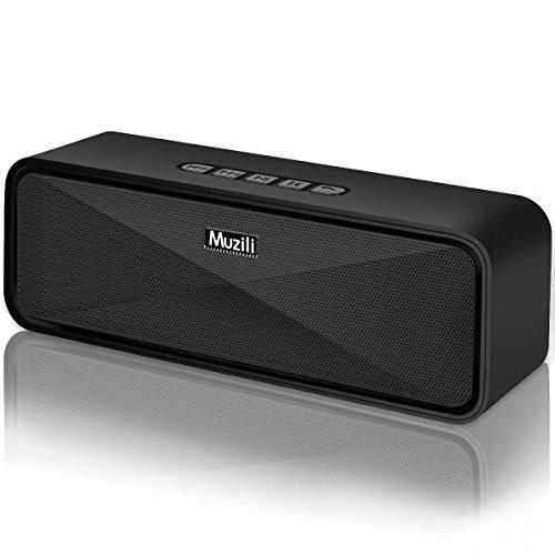 Enceinte-Bluetooth-Portable-Haut-Parleur-Bluetooth-50-sans-Fil-12-Heures-Autonomie-Stereo-HD-Microphone-Integre-Port-AuxUSBSD-Mains-Libres-Compatible-avec-Telephone-et-Tablettes-Noir