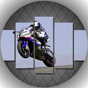 Trendversand-24 Fondant Cake Toppers Birthday Motorbike T19 51yibfTObaL