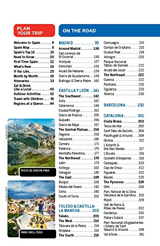 Lonely Planet Spain Travel Guide Just Leaving Footprints