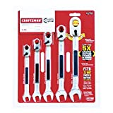 CRAFTSMAN Wrench Set, 5 Pieces (912758)