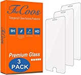 [3-Pack] TheCoos Tempered Glass Screen Protector For Apple iPhone 8 and iPhone 7