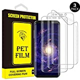 Galaxy S8 Plus Screen Protector, Yoyamo PET Full Screen Coverage [NOT Glass] [Anti Scratch] Screen Protector for Samsung Galaxy S8 Plus [3-Pack] [T1]