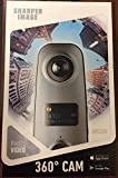 Sharper Image SVC360 Panoramic 360 Camera, Full HD, High Resolution Video Capture, Spherical View