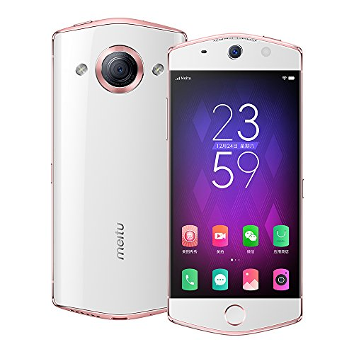 Meitu M6 64GB 5-inch 21MP Front & Rear Camera 4G LTE FACTORY UNLOCKED Taiwan Stock No Warranty (WHITE)