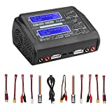 Li-ion Life NiCd NiMH LiHV PB Smart Battery LiPo Battery Charger Duo Discharger Dual AC150W DC240W 10A C240 1-6S