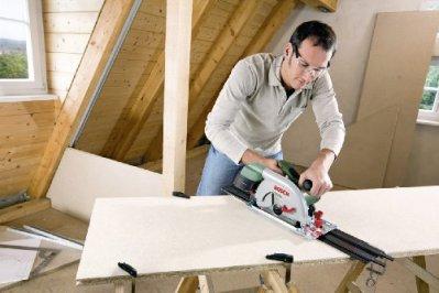 Bosch-Kreissge-PKS-66-AF-Kreissgeblatt-Holz-Parallelanschlag-Fhrungsschiene-Karton-1600-Watt