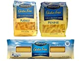 Heartland Gluten Free 3 Variety Pasta Pack Bundle - 1- 12 Oz. Penne 1-12 Oz. Fusili and 1- 12 Oz. Spaghetti