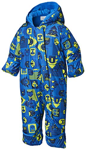 Columbia Baby Snuggly Bunny Insulated Water-Resistant Bunting, Super Blue Critter/Super Blue, 6/12